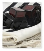 Tifillin And Talis Fleece Blanket