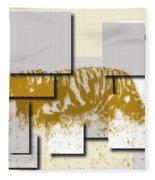 Tiger 6 Fleece Blanket