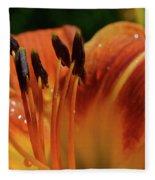 Tiger Lily Fleece Blanket