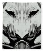 Tiger No.7 Fleece Blanket