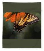 Tiger Swallowtail - 2 Fleece Blanket