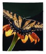 Tiger Swallowtail Fleece Blanket