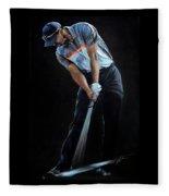 Tiger Woods Fleece Blanket