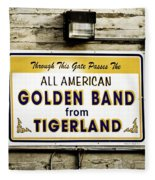 Tigerland Band Fleece Blanket