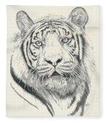 Tigerlily Fleece Blanket