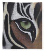Tiger's Eye Fleece Blanket