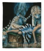 Tigress Fleece Blanket