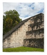Tikal Mayan Site Guatemala Fleece Blanket