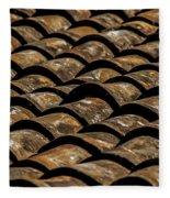 Tile Roof 2  Fleece Blanket