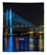 Tilikum Crossing Fleece Blanket