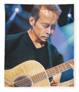 Tim Reynolds And Lights Fleece Blanket