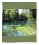 Timava's Spring II Fleece Blanket