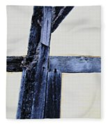 Timber Framing Detail Fleece Blanket