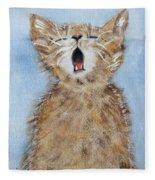 Time For Bed Fleece Blanket