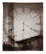 Time Is Infinite Fleece Blanket