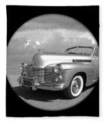 Time Portal - '41 Cadillac Fleece Blanket