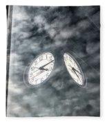 Time, Time Fleece Blanket