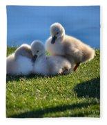 Time To Snuggle Fleece Blanket