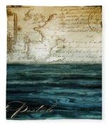 Timeless Voyage II Fleece Blanket