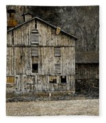 Tin Cup Chalice Rustic Barn Fleece Blanket
