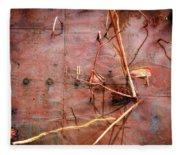 Tin Door - Red Pond Fleece Blanket