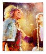 Tina Turner And Bryan Adams Fleece Blanket