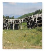Tincup History 4 Fleece Blanket