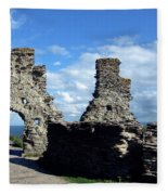 Tintagel Castle 2 Fleece Blanket