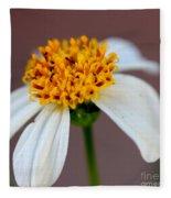 Tiny Ants In Tiny Flower Fleece Blanket