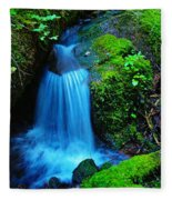 Tiny Falls Fleece Blanket