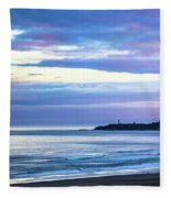 Guiding Light In The Distance Fleece Blanket