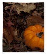Tiny Pumpkin Fleece Blanket