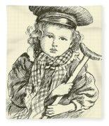 Tiny Tim Fleece Blanket