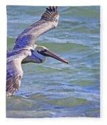 Tip Of The Wing Fleece Blanket