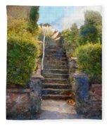Tipsy Stairs Fleece Blanket