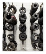 Tire Rack Fleece Blanket