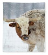 Tired Of Snow Fleece Blanket