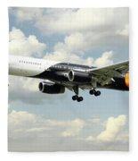 Titan Airways Boeing 757 Fleece Blanket