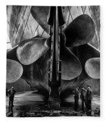 Titanic Propellers Fleece Blanket