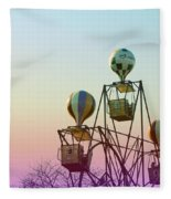 Tivoli Balloon Ride Fleece Blanket