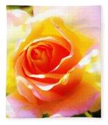 Tjs Rose A Glow Fleece Blanket