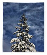 To Blue Horizons Fleece Blanket