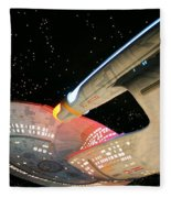 To Boldly Go Fleece Blanket
