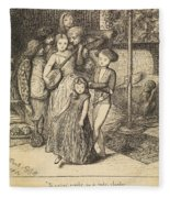 To Caper Nimbly In A Lady's Chamber To The Lascivious Pleasing Of A Lute Fleece Blanket