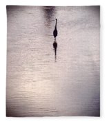 To Stand Alone Fleece Blanket