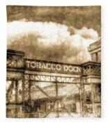 Tobaco Dock London Vintage Fleece Blanket