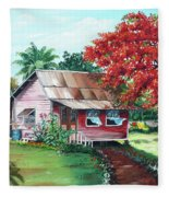 Tobago Country House Fleece Blanket