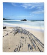 Toco Beach Fleece Blanket