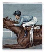 Tod Sloan (1874-1933) Fleece Blanket