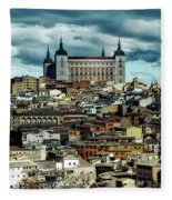 Toledo Spain Fleece Blanket